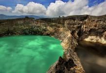 I laghi colorati di Kelimutu
