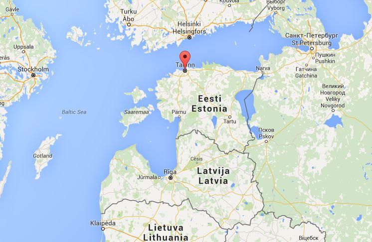 Posizione di Tallinn