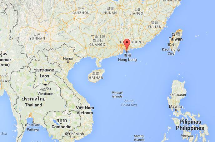 Collocazione di Hong Kong