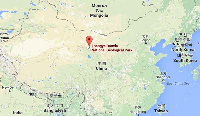 Localizzazione del Parco Geologico