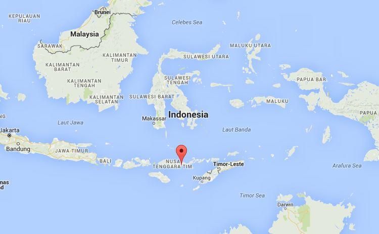 I laghi colorati del monte kelimutu in indonesia da favola for Arredo ingross 3 dove si trova