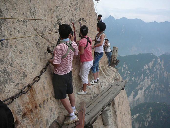 Il monte Huashan