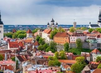 La zona medievale di Tallinn