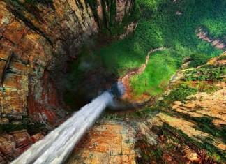Cascata del Drago, in Venezuela
