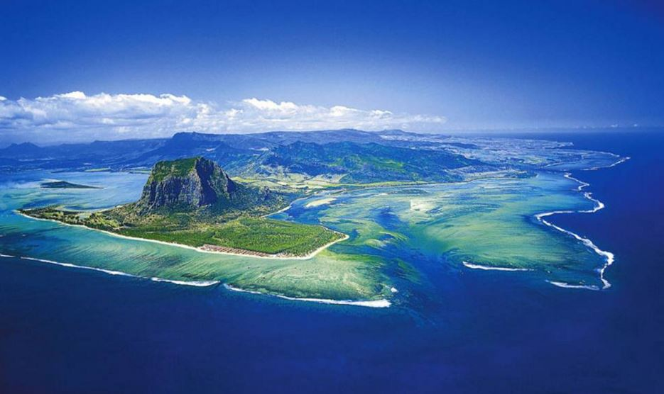 L'illusione del gorgo delle Mauritius