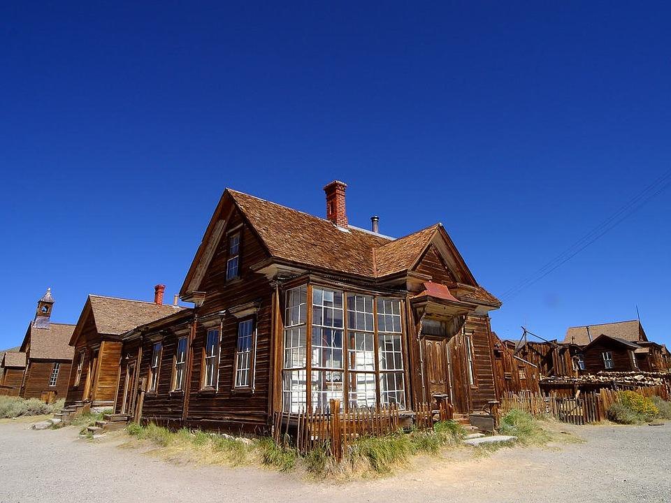 Una casa disabitata di Bodie