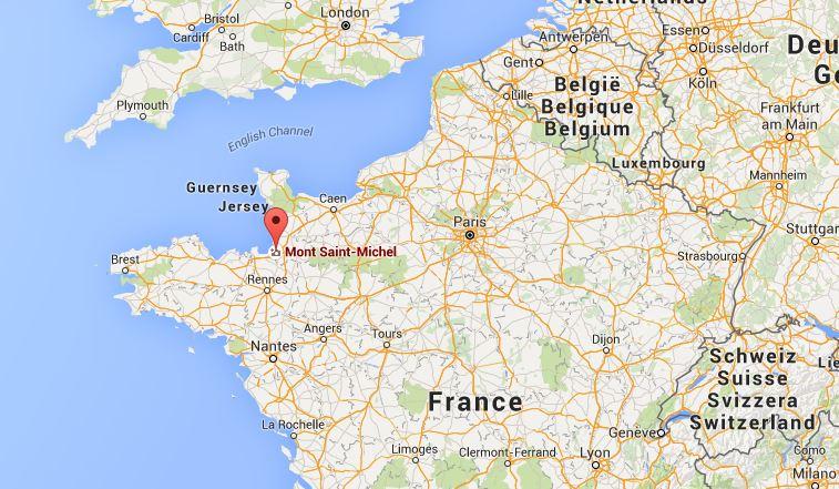 Come raggiungere Mont Saint-Michel