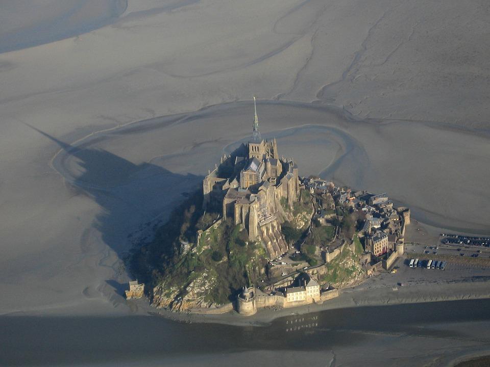 Bassa marea a Mont Saint-Michel