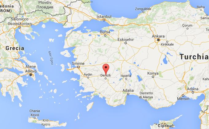 Dove si trovano le piscine di Pamukkale