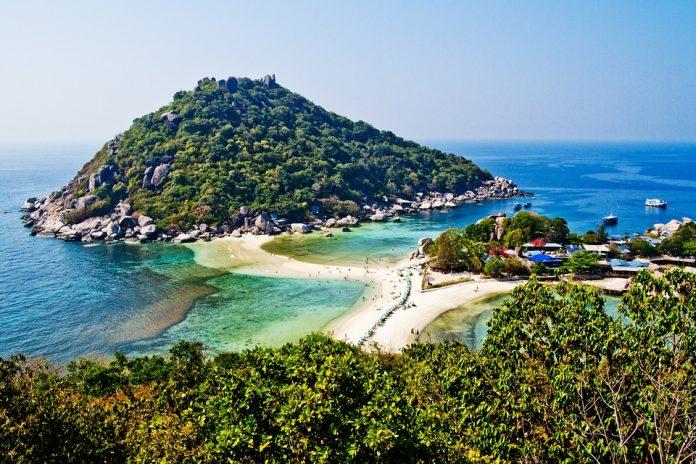 L'sola di Ko-Tao in Thailandia