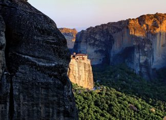 I torrioni di Meteora
