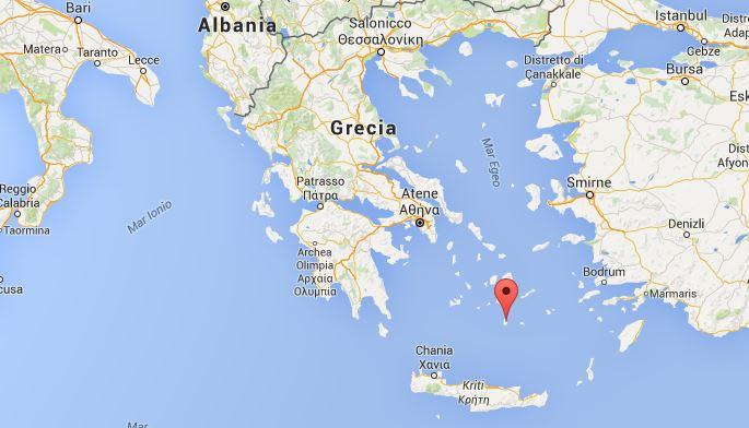 Dove si trova Santorini