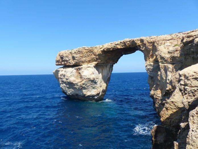 Arco di roccia a Gozo
