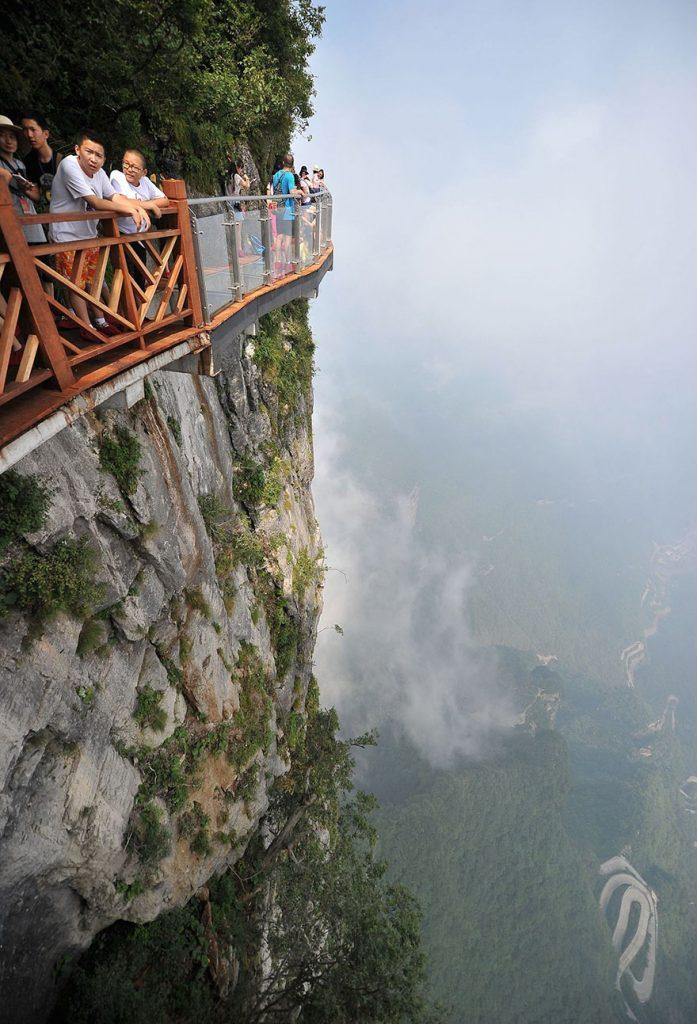 Un'esperienza da brivido per i turisti