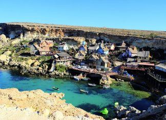 Il villaggio di Popeye a Malta