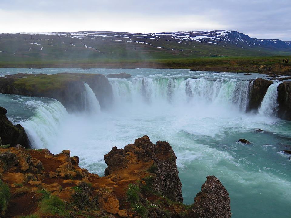 La cascata degli dei