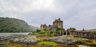 Loch Duich, in Scozia