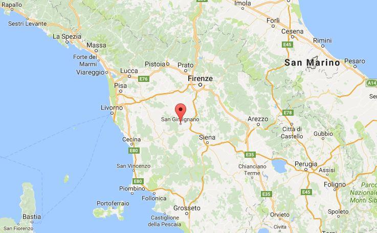 Dove si trova San Gimignano