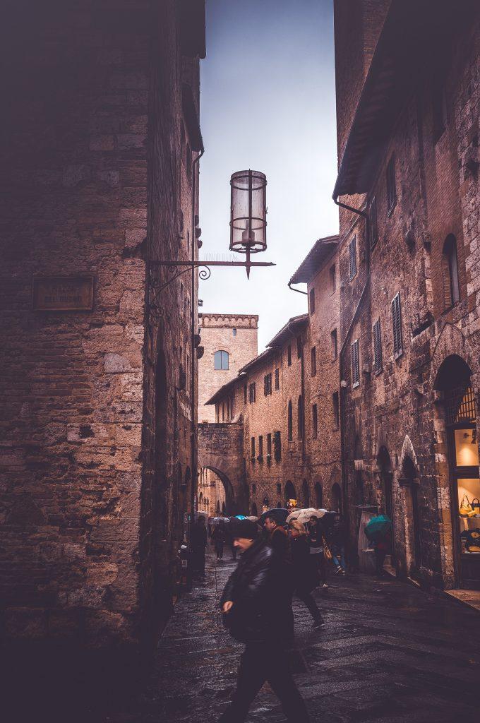Il centro di San Gimignano