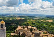 San Gimignano e le colline senesi