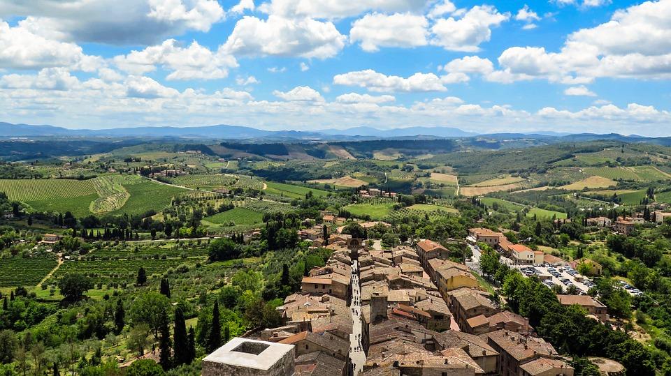 Panorama da San Gimignano