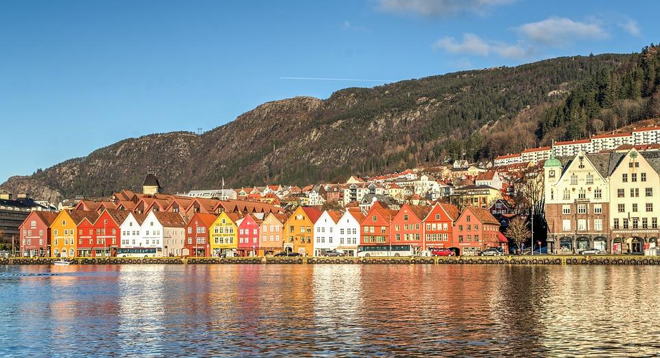 La città di Bergen