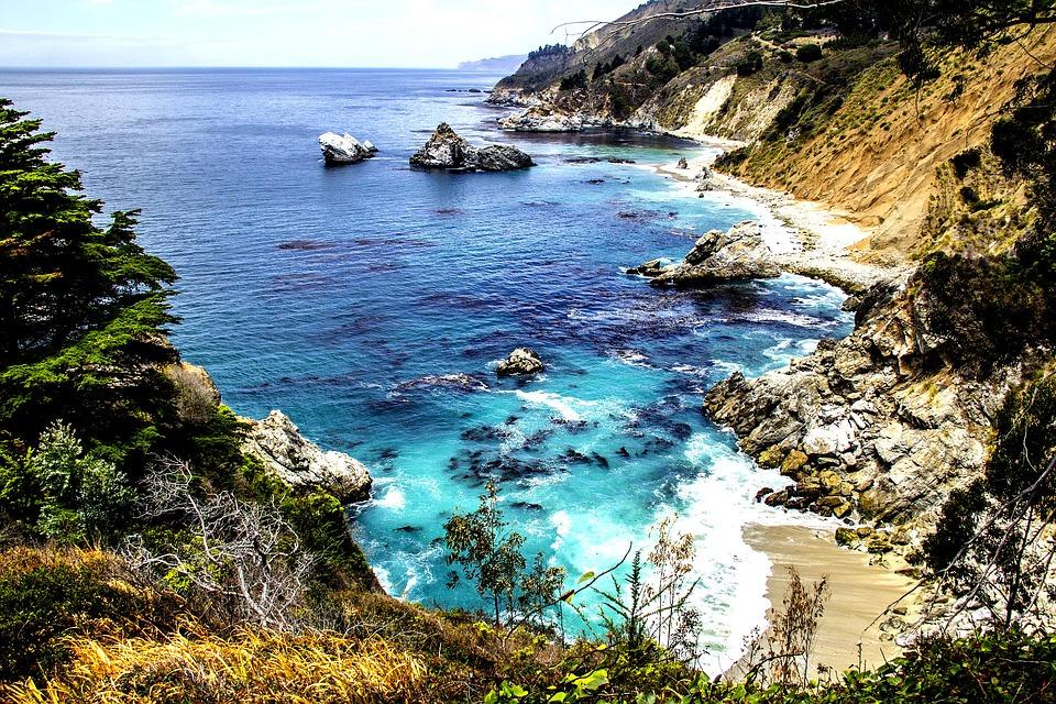 La spiaggia di Carmel
