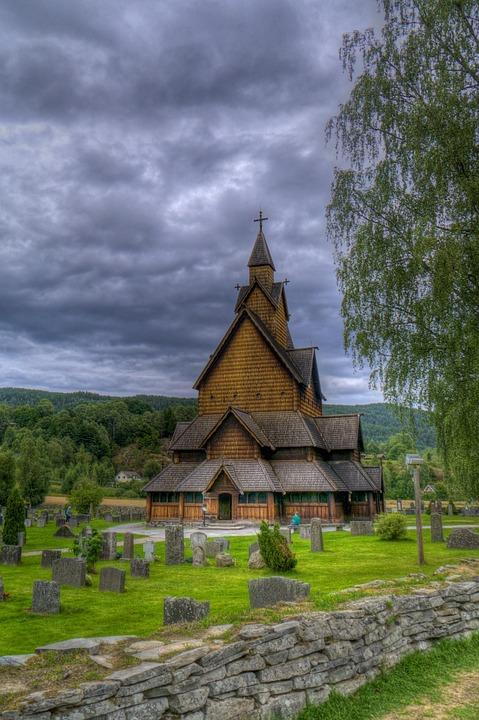 stavkirke chiesa di legno