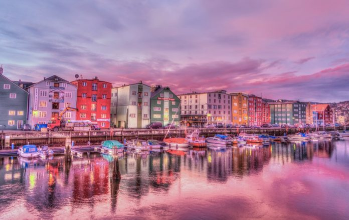 Trondheim in Norvegia