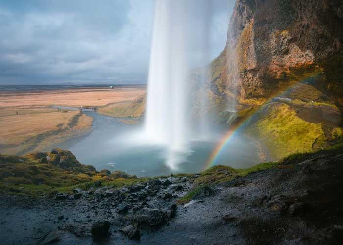 Arcobaleno a Seljalandsfoss