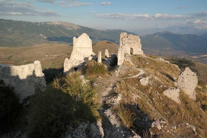 Rocca Calascio vicino a Campo Imperatore