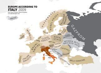 Come l'Italia vede l'Europa