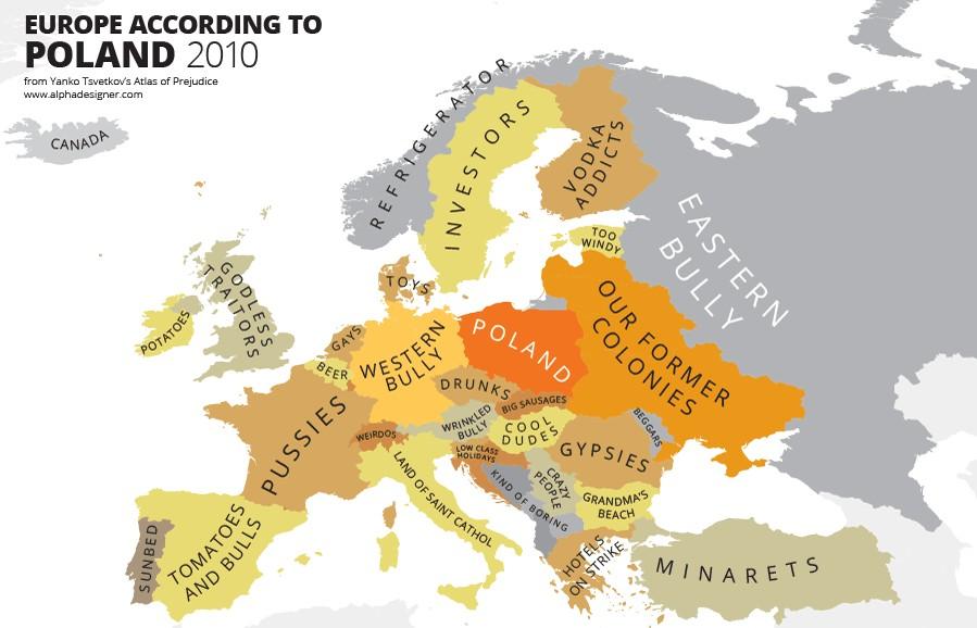 Come la Polonia vede l'Europa
