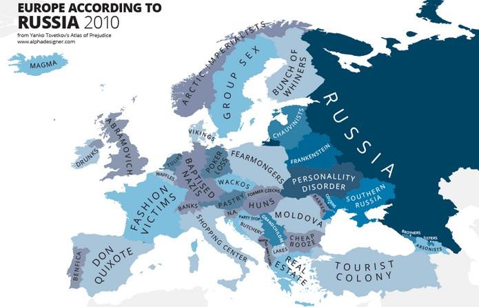 Come la Russia vede l'Europa