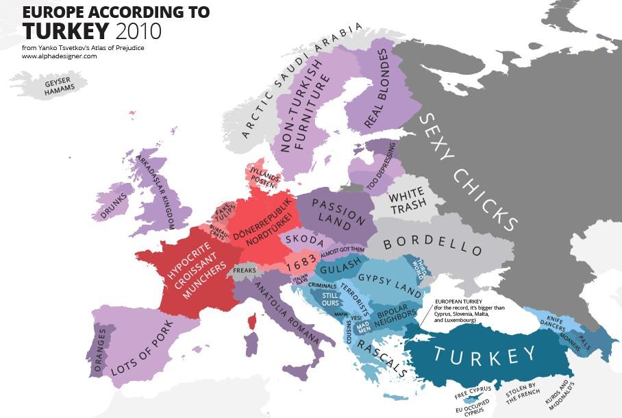 Come la Turchia vede l'Europa