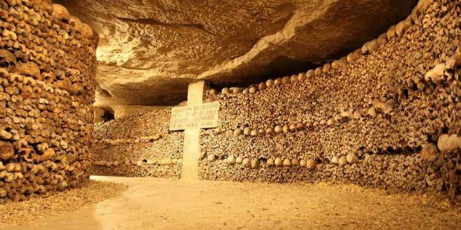 Ossario delle Catacombe di Parigi